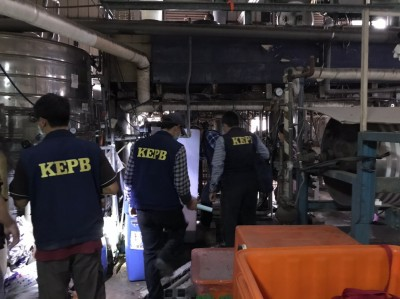 地下拉鍊工廠偷排污染鳳山溪 高市環保局蒐證2個月揪出