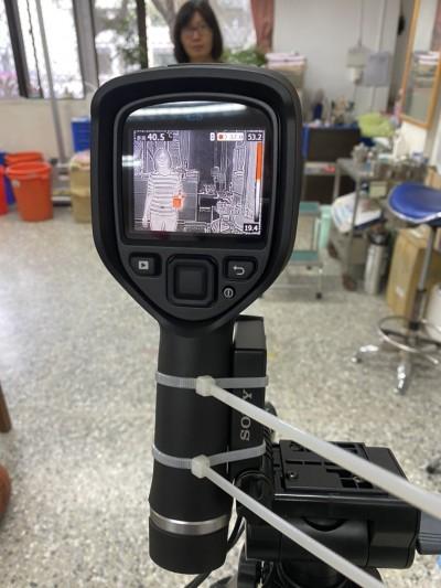 武漢肺炎》防疫升級 台東新生國中添購紅外線熱影像儀