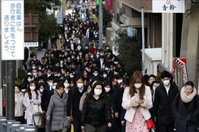 武漢肺炎》日本境內確診數破百 東京+3、千葉+1