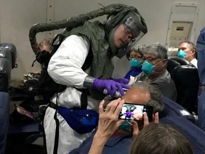武漢肺炎》美國鑽石公主號撤僑 又驗出11人病毒陽性