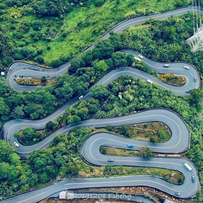 10公里海拔落差1000公尺 自行車賽挑戰梅山36彎「魔王級」車道