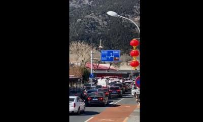武漢肺炎》疫情嚴峻時刻 北京香山現出遊車潮!中網友不敢置信