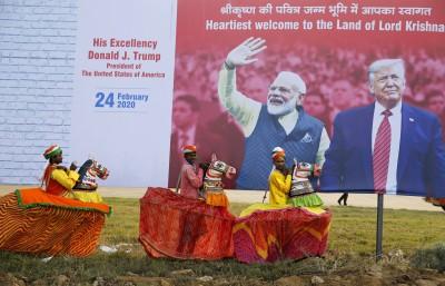 川普將訪甘地故居 印度花3.6億派萬名警力整修