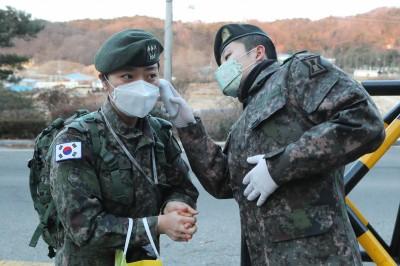 武漢肺炎》駐韓美軍家人確診!美軍上調成「高風險」等級