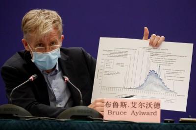 武漢肺炎》世衛考察組:新冠病毒靠飛沫傳播 各年齡無免疫