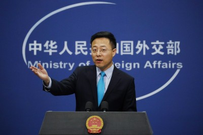 美總統參選人揚言出兵護台 中國外交部新發言人說話了