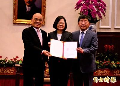 武漢肺炎》火速簽署紓困條例 蔡總統:展現台灣民主效率