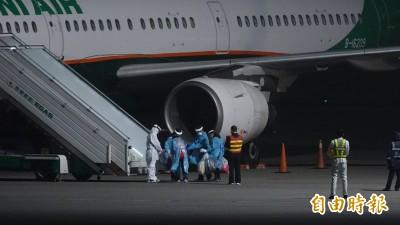 武漢肺炎》血友病少年返台 停機坪檢疫後直奔醫院