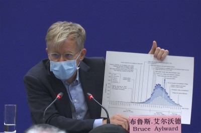 武漢肺炎》狂讚中國防疫政策棒 WHO專家:全球都欠武漢人