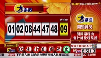2/25 大樂透、雙贏彩、今彩539 開獎囉!