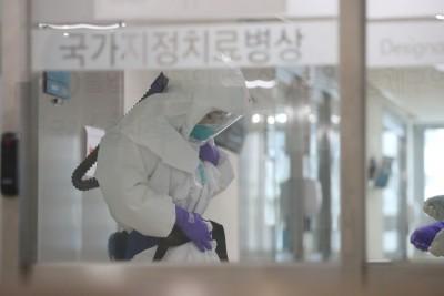 武漢肺炎》南韓再增84例、1死 累計977例確診10死