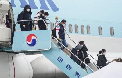 武漢肺炎》首爾飛南京班機3中客發燒 94名乘客遭強制隔離