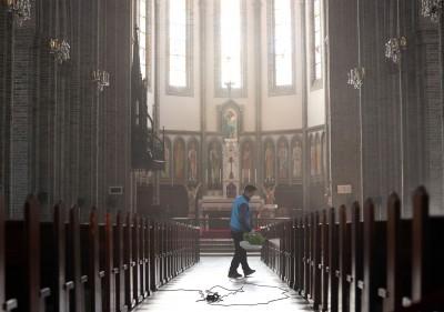 武漢肺炎》236年首次! 天主教會:南韓全國暫停公開彌撒