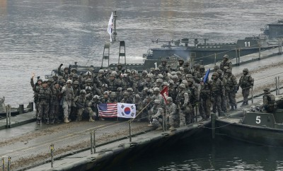 武漢肺炎》南韓軍隊已有21人確診 美韓聯合軍演確定延期