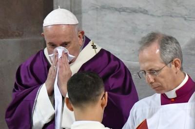 義大利疫情正爆發... 教宗「輕微不適」取消彌撒