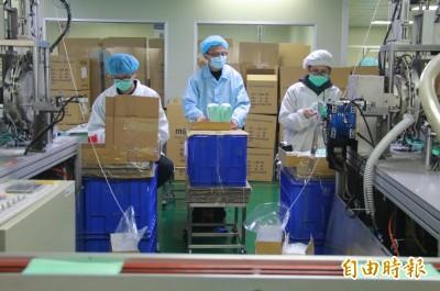 武漢肺炎》蘇貞昌指示  再增30條口罩生產線