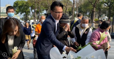 韓國瑜追思228說成「823」 市議員轟:這是心態的展現