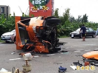 絕命終結站!追撞害物流司機噴飛慘死 曳引車駕駛被訴