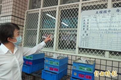 盧秀燕再訪學校促防疫上緊發條「不能做表面功夫」