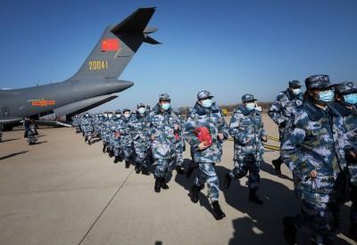武漢肺炎》中共解放軍4千人支援疫區 堅稱軍隊醫護零感染
