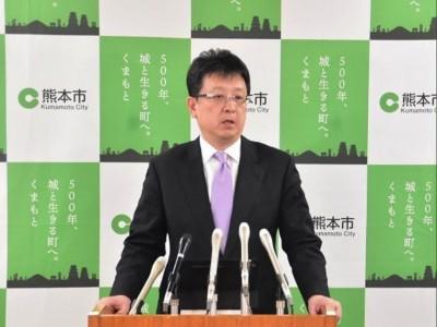 武漢肺炎》防疫緊繃轉換心情 熊本市長:新冠病毒你這個笨蛋!