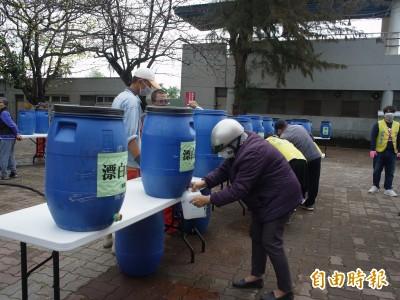 免費漂白水 北港鎮公所提供至25日