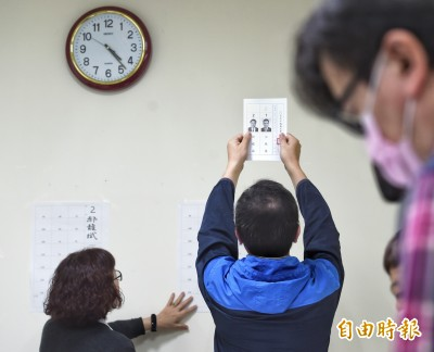 國民黨主席選舉開票未結束 郝龍斌自行宣布敗選