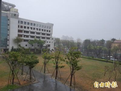 高市久旱不雨 今終於下雨了