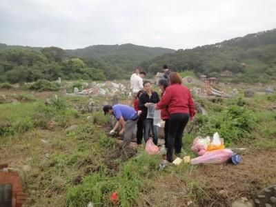 掃墓兼顧防疫 竹縣府要求公所提早開放公墓、納骨塔