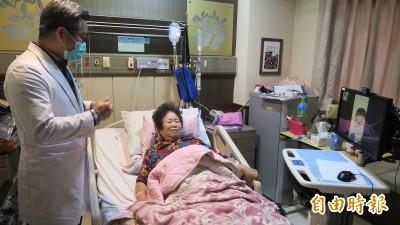 武漢肺炎》防堵疫情不准探病 彰化醫院用這招幫民眾「解相思」