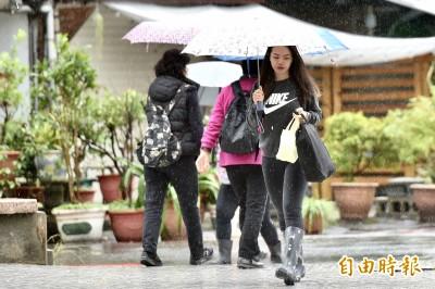 今起有雨天氣不穩 明恐有冷氣團來襲