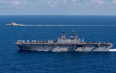 軍情動態》美2艘軍艦航行南海起降F-35   中國緊張
