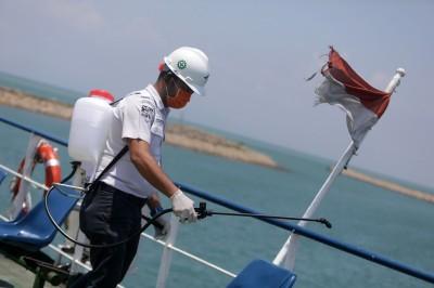 武漢肺炎》確保國內供應   印尼宣布口罩、消毒水禁止出口