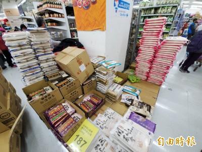 武漢肺炎》超市現搶購潮?陳時中:台灣完全沒有恐慌的理由