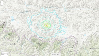 中國西藏5.9極淺層強震 救難人員現趕往災區