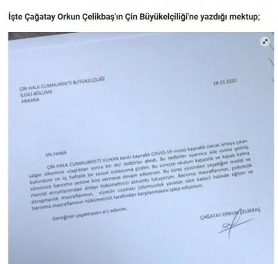 武漢肺炎衝擊生活 土耳其學生要求中國支付費用
