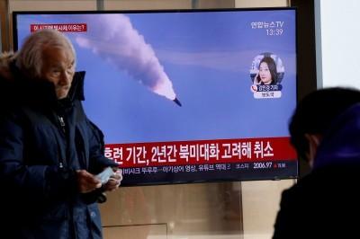 軍情動態》金正恩無視全球疫情肆虐 今早再射2枚短程飛彈