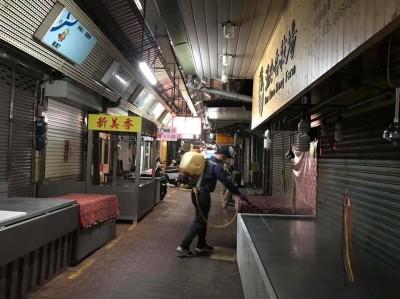 竹北、竹東等15處公有市場和攤集區 每週消毒1次