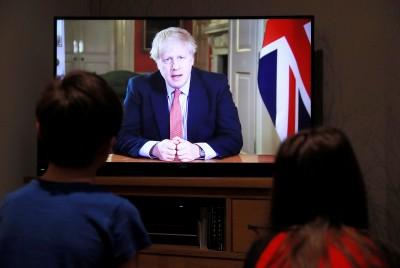 武漢肺炎》不再佛系防疫 英國首相宣布「全國封鎖」