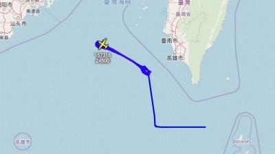 軍情動態》美軍EP-3偵察機監控共軍  今在高雄外海空域兜圈圈
