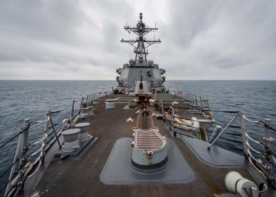 軍情動態》美驅逐艦昨航行台灣海峽  國防部:全程掌握