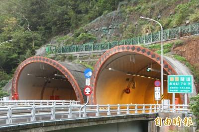 台9線觀音谷風隧道、草埔森永隧道 清明連假提速至70公里