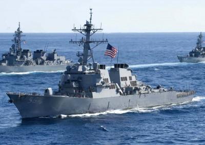 軍情動態》疫情影響 美國海軍「2020大規模演習」延至明年