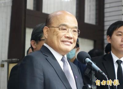 英情侶稱在台隔離如監獄 蘇揆:台灣公平善意對待任何人