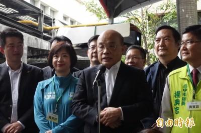 對岸「反動員」 蘇貞昌堅持上海「類包機」防堵破口