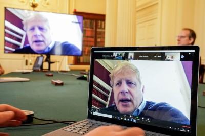 武漢肺炎》英國首相強森致信給3000萬家庭:狀況會變得更糟