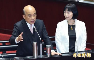 蘇貞昌親自拜訪 楊翠同意續留促轉會