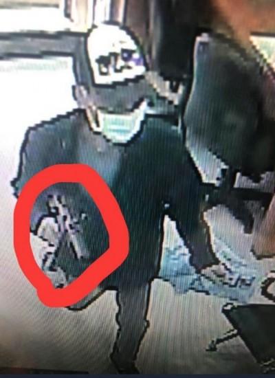 板信大直分行搶案》匪徒疑用MP5衝鋒槍 不排除再次作案