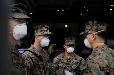 美軍首例染疫死亡 美國單日新增確診逾2萬例