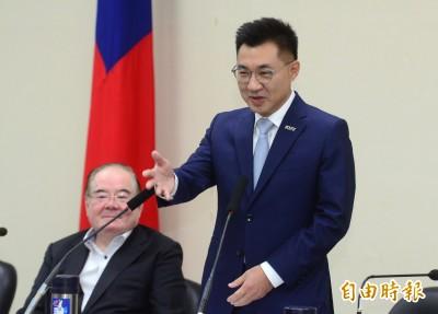 江啟臣簽核地方黨部主委名單 謝龍介首見副秘書長兼任